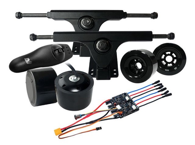 dual bldc hub motor kit regler escs eigenbau. Black Bedroom Furniture Sets. Home Design Ideas