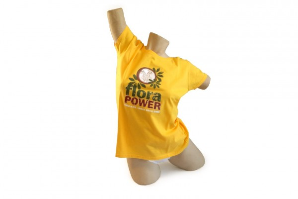 Flora Power T-Shirt Ladies