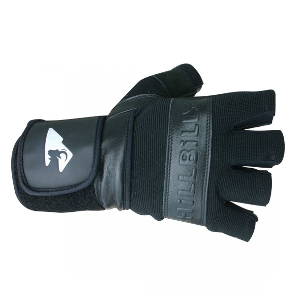 MBS HillBilly Wrist Guard Gloves - Half Finger