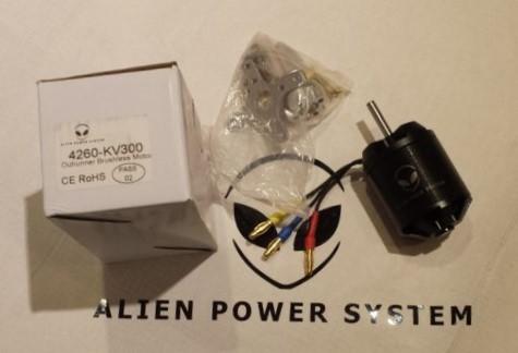 APS Brushless Outrunner Motor 4260S 100KV mit Sensoren