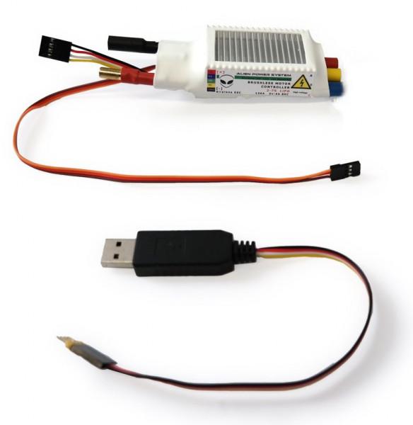 APS 120A 2-7S Mini ESC BEC
