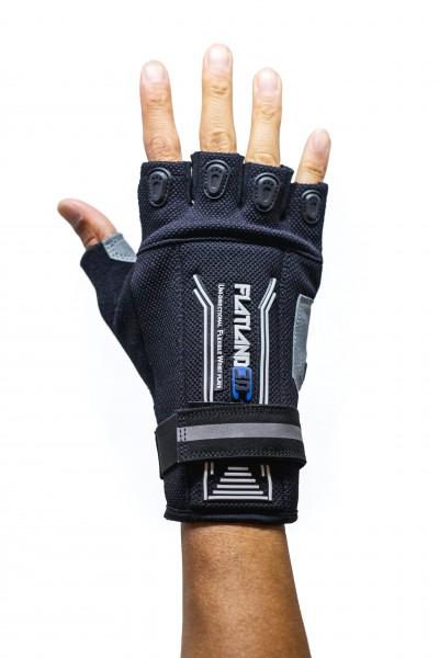 Flatland 3D pro E-Skate Handschuh Halbfinger