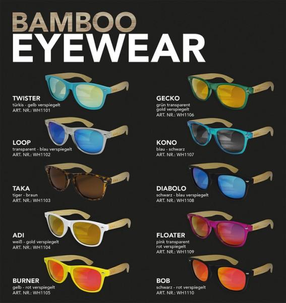 Wave Hawaii Bamboo Sonnenbrille