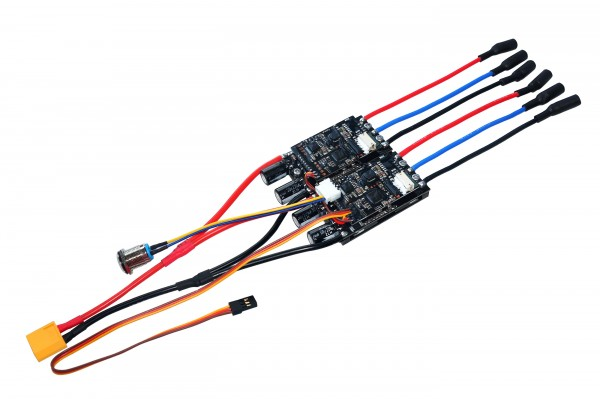 Dual Hub BLDC FOC ESC MTDU30A