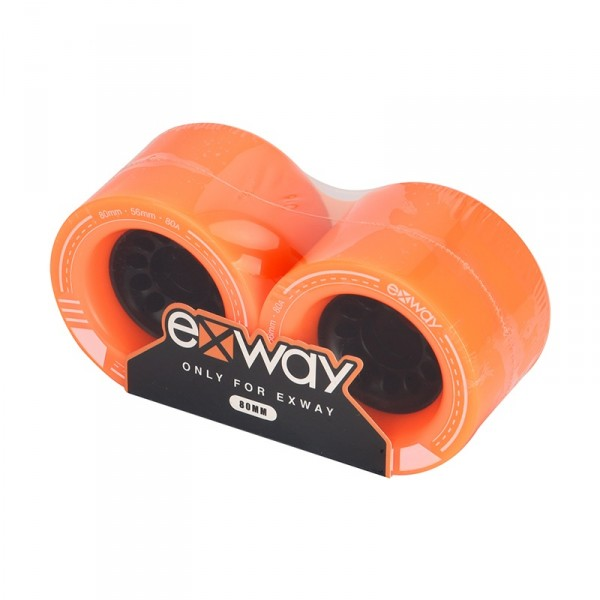 exway x1 Rollen vorne