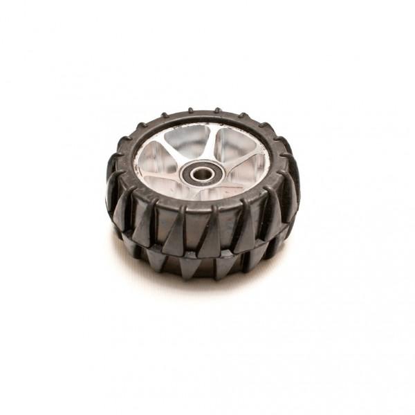 Gummi Reifen mit Alu Felge - Evo Street und Underground