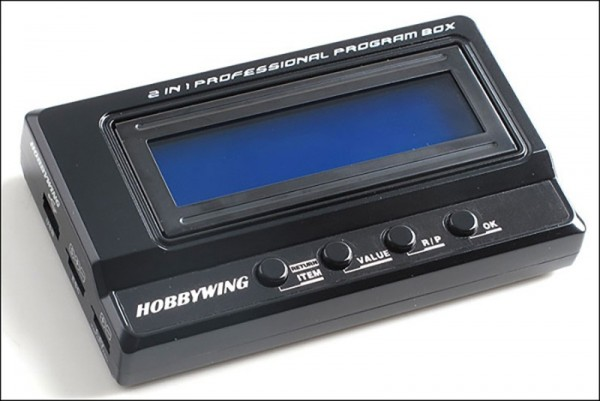 Hobbywing Multifunktions LCD Programm Box