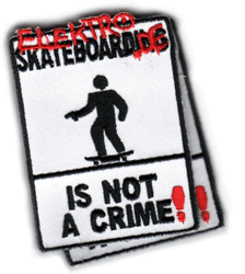 Aufnäher: not a crime Street