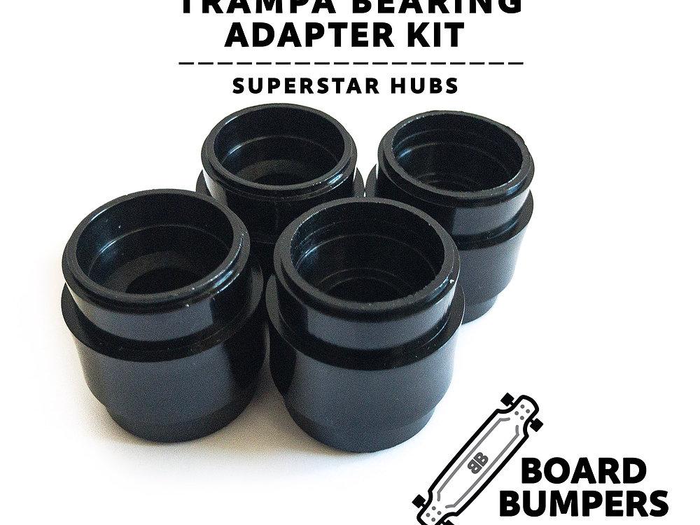 board bumpers trampa superstar hub bearing adapter set. Black Bedroom Furniture Sets. Home Design Ideas
