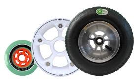 Rollen Reifen Felgen