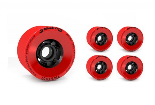 Trampa Stickies Longboard Rollen Set