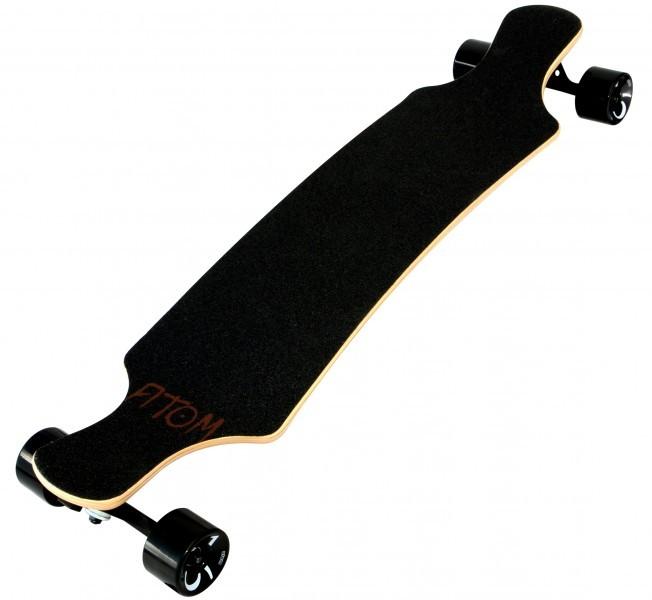 atom 39 bamboo drop slant longboard longboards boards. Black Bedroom Furniture Sets. Home Design Ideas
