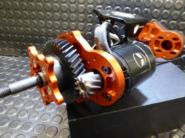 E-Toxx Trampa Mini Direct Drive Helical Getriebe