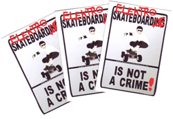 Sticker: not a crime Offroad