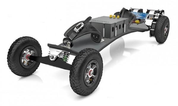 Trampa 606e Mountainboard | Dual Motoren | Infinity Trucks | Hypa Wheels