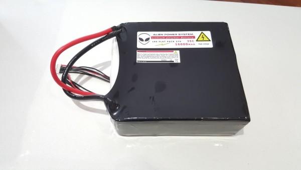 APS 10S 16000mAh 35C LiPo Akku - Flachbauweise
