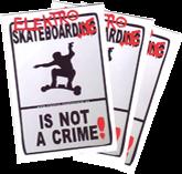 Sticker: not a crime ATB