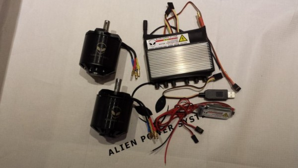APS 150A 6.4KW Dual Motor E-Board DIY Kit