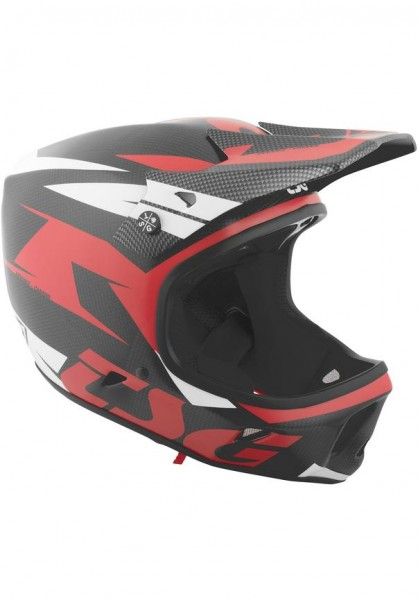 TSG Fullface Helm Advance Carbon