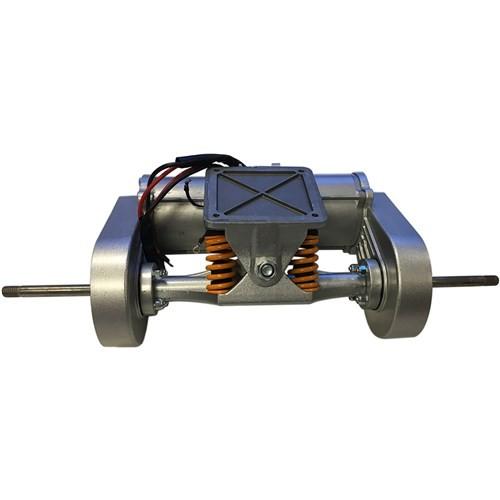 Skatey 800 Doppel Motor Achse Komplett